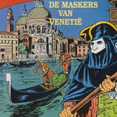 De maskers van venetië