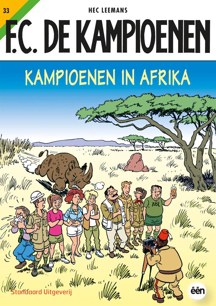 nieuwe Afrikaanse strip plagen